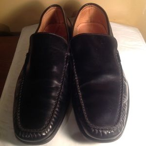 Coach men's slip ons leather shoes made in Italy